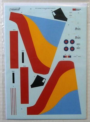 XTRADECAL 1/72 72317 RAF LOCKHEED C-130J HERCULES C.5 SPECIAL SCHEMES PART 2