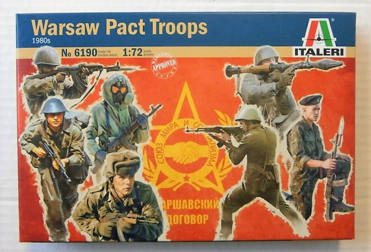 ITALERI 1/72 6190 WARSAW PACT TROOPS 1980s