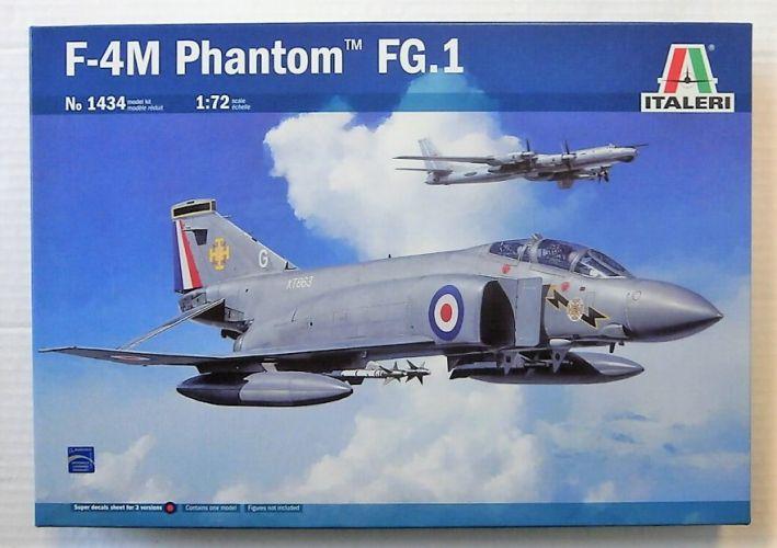 ITALERI 1/72 1434 F-4M PHANTOM FG.1