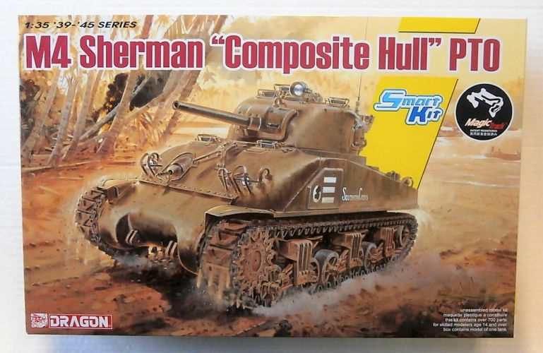DRAGON 1/35 6740 M4 SHERMAN COMPOSITE HULL PTO