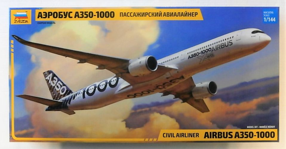 ZVEZDA 1/144 7020 AIRBUS A350-1000  UK SALE ONLY