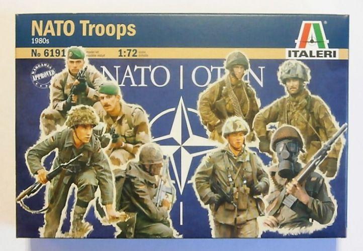 ITALERI 1/72 6191 NATO TROOPS 1980s