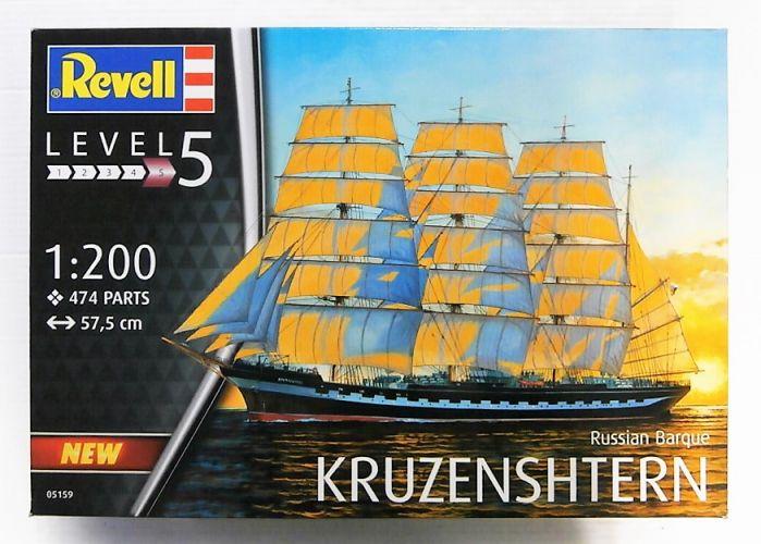 REVELL 1/200 05159 RUSSIAN BARQUE KRUZENSHTERN