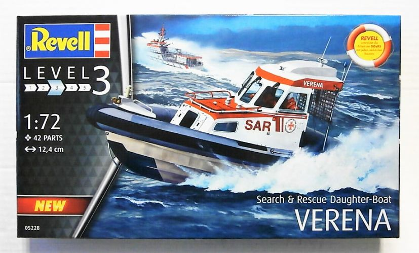 REVELL 1/72 05228 SEARCH   RESCUE DAUGHTER-BOAT VERENA