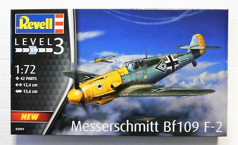 REVELL 1/72 03893 MESSERSCHMITT BF109 F-2