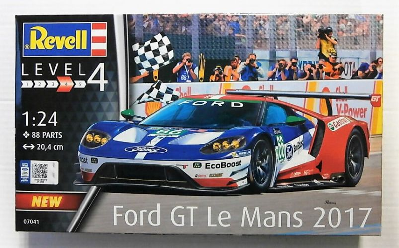 REVELL 1/24 07041 FORD GT LE MANS 2017