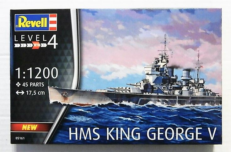 REVELL 1/1200 05161 HMS KING GEORGE V