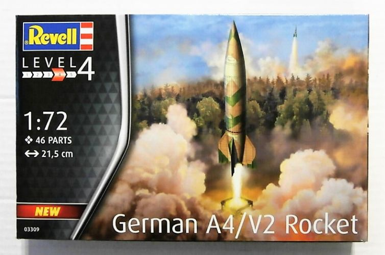 REVELL 1/72 03309 GERMAN A4/V2 ROCKET