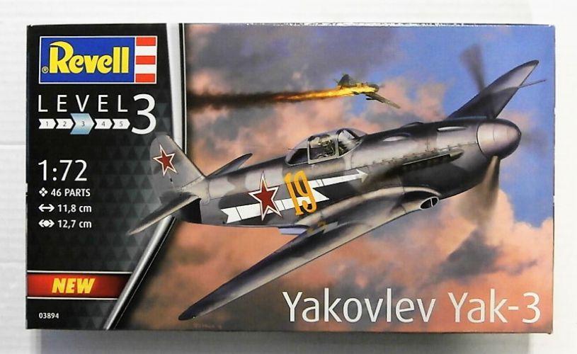 REVELL 1/72 03894 YAKOVLEV YAK-3