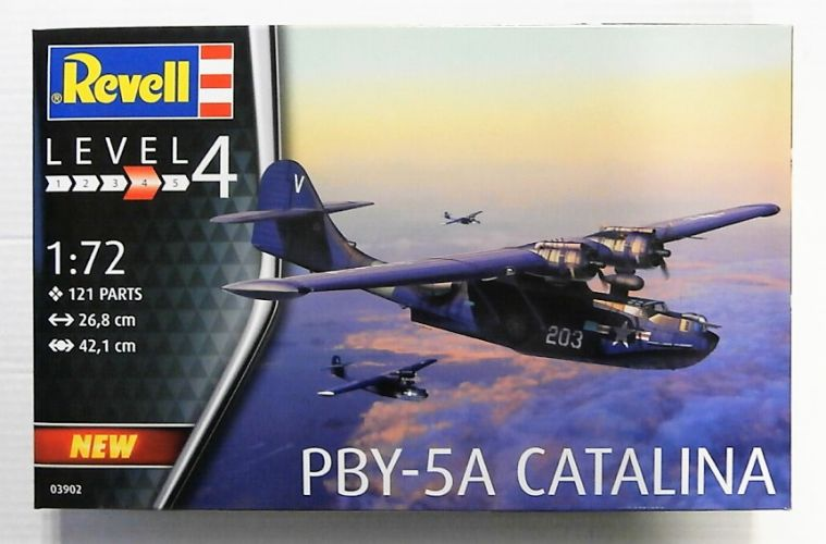 REVELL 1/72 03902 PBY-5A CATALINA