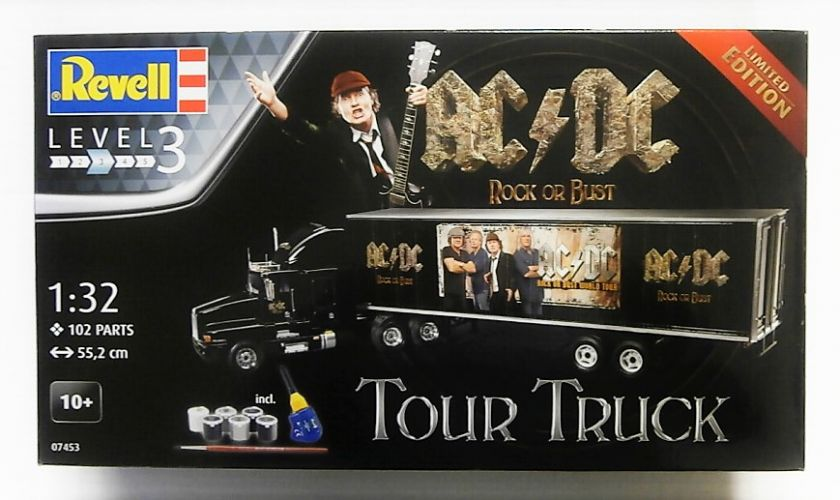 REVELL 1/32 07453 AC/DC ROCK OR BUST TOUR TRUCK