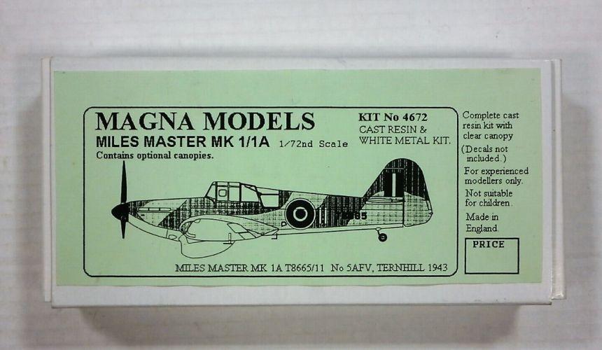 MAGNA 1/72 4672 MILES MASTER Mk.I/IA