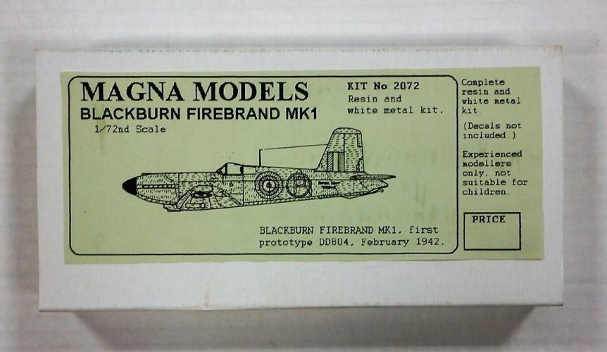 MAGNA 1/72 2072 BLACKBURN FIREBRAND Mk.I
