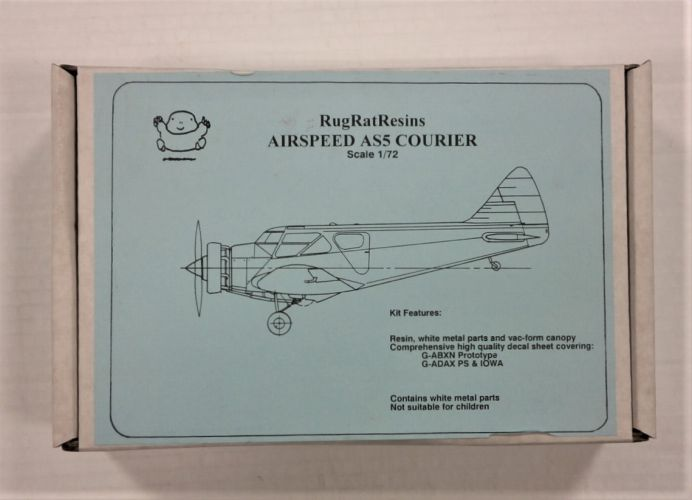 RUGRAT 1/72 AIRSPEED AS5 COURIER