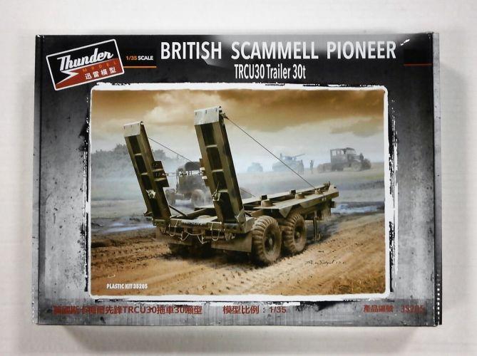 THUNDER MODEL 1/35 35205 BRITISH SCAMMELL PIONEER TRCU30 Trailer 30t