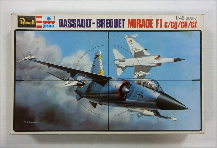 REVELL 1/48 H-2235 DASSAULT-BREGUET MIRAGE F1 c/cg/ce/cz