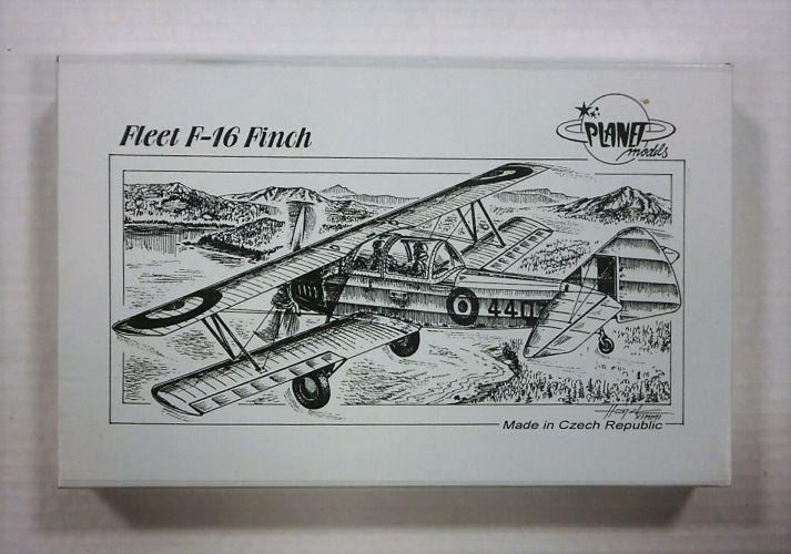 PLANET MODELS 1/72 083 FLEET F-16 FINCH