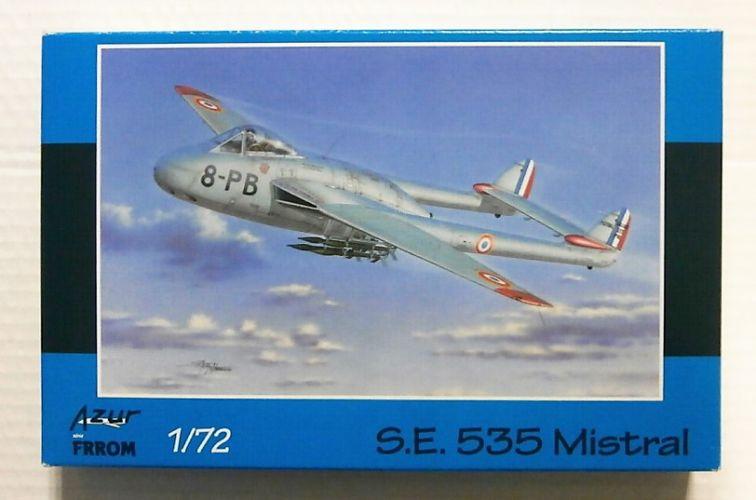 AZUR 1/72 FR0041 S.E. 535 MISTRAL