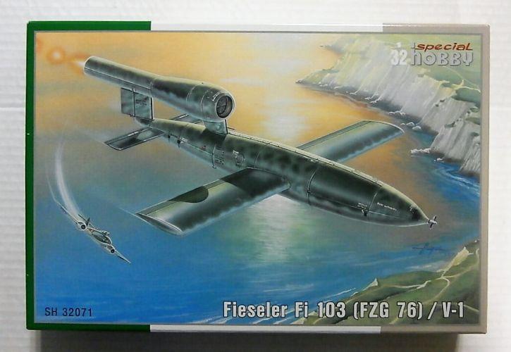 SPECIAL HOBBY 1/32 32071 FIESELER FI 103  FZG 76 / V1