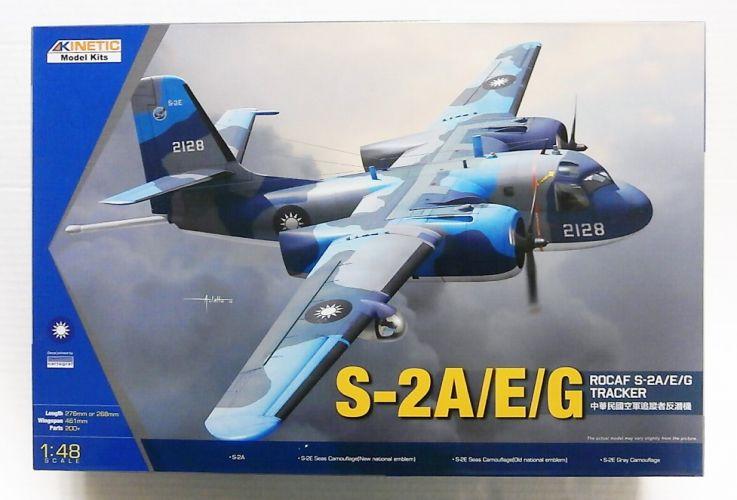 KINETIC 1/48 48070 ROCAF S-2A/E/G TRACKER