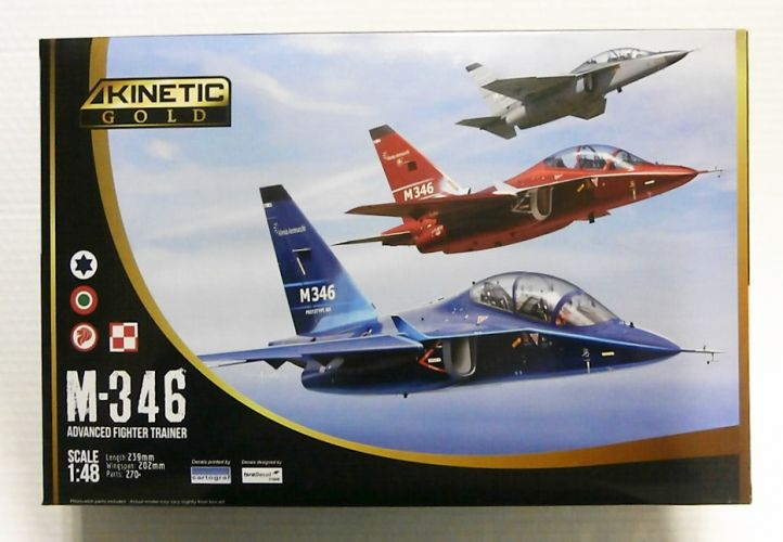 KINETIC 1/48 48063 M-346 ADVANCED FIGHTER TRAINER