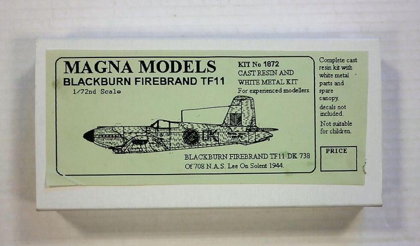 MAGNA 1/72 1872 BLACKBURN FIREBRAND TF11