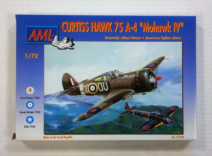 AML 1/72 72009 CURTISS HAWK 75 A-4 MOHAWK IV