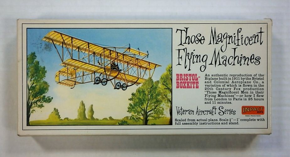 INPACT  P105 BRISTOL-BOXKITE FLYING MACHINE