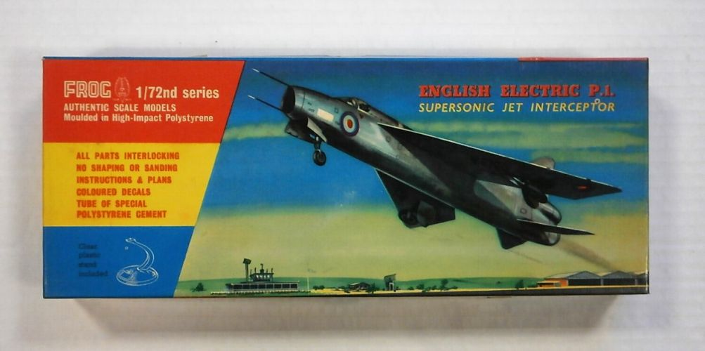 FROG 1/72 332 ENGLISH ELECTRIC P.1. SUPERSONIC JET INTERCEPTOR