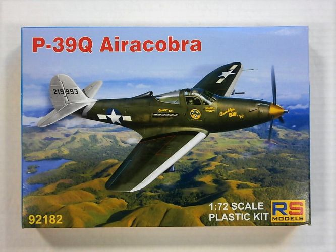 RS MODELS 1/72 92182 P-39Q AIRACOBRA