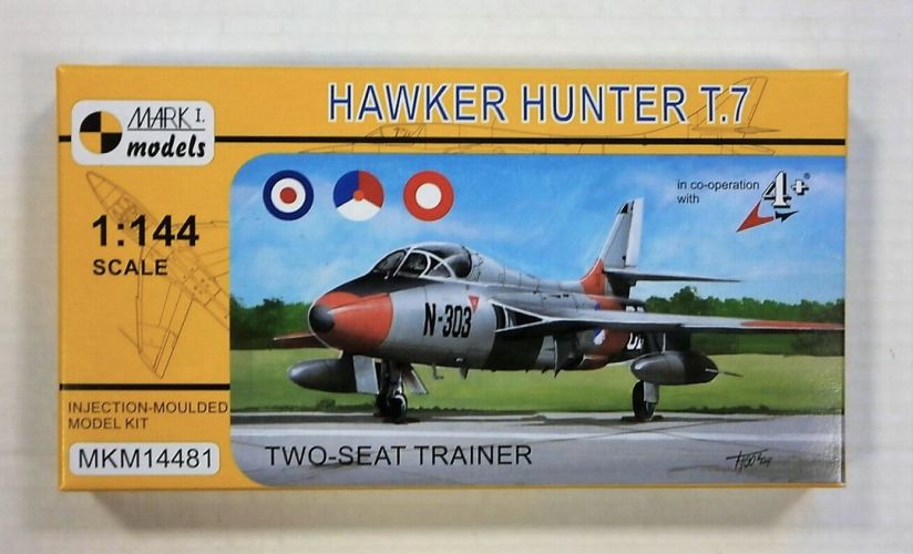 MARK I MODELS 1/144 14481 HAWKER HUNTER T.7