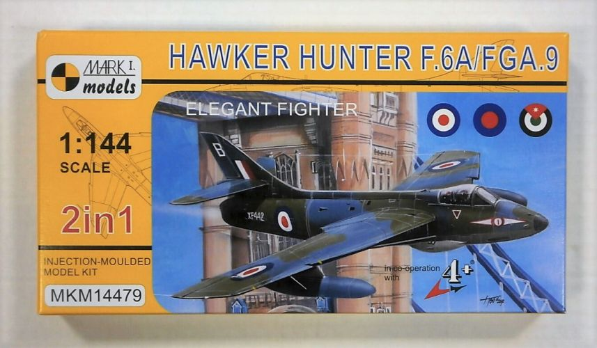 MARK I MODELS 1/144 14479 HAWKER HUNTER F.6A/FGA.9
