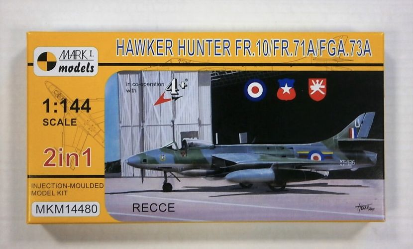 MARK I MODELS 1/144 14480 HAWKER HUNTER FR.10/FR.71A/FGA.73A
