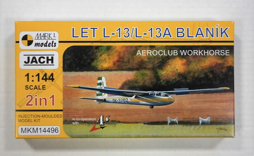 MARK I MODELS 1/144 14496 LET L-13/L-13A BLANIK