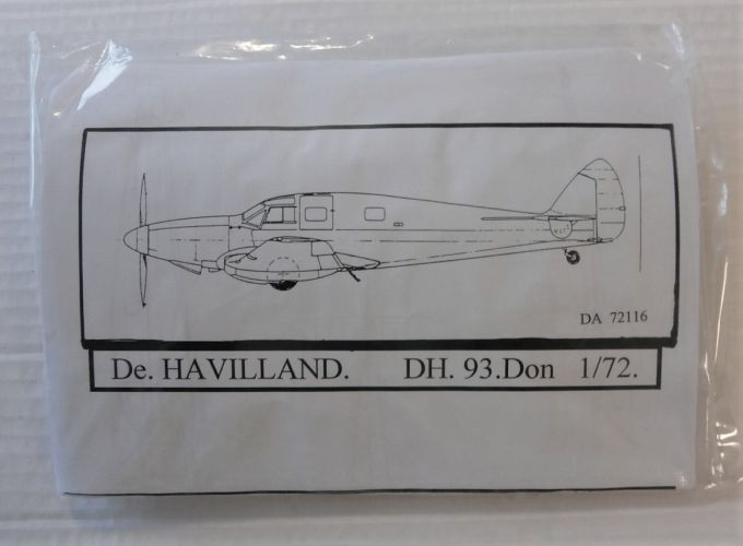 DUJIN 1/72 72116 De. HAVILLAND DH. 93.Don
