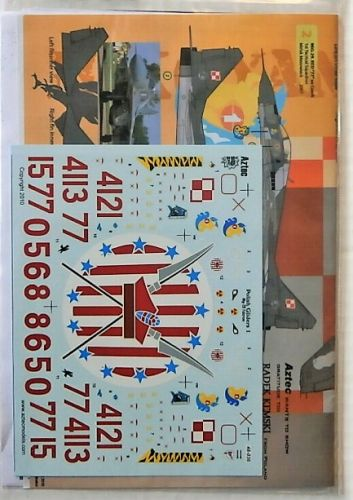 DISCOUNT DECALS 1/48 2560. 48036 POLISH GLIDERS 1