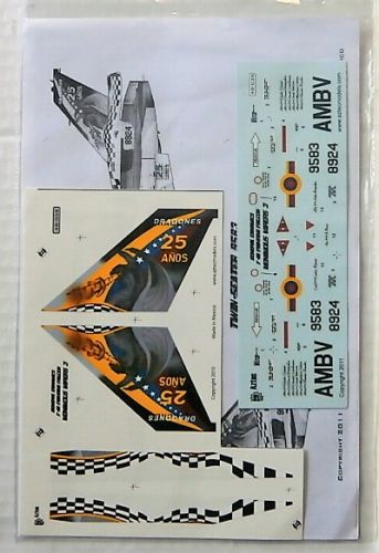 AZTEC MODELS 1/48 2565. 48038 GENERAL DYNAMICS F-16 FIGHTING FALCON VENIMOUS VIPERS 3