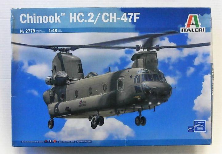 ITALERI 1/48 2779 CHINOOK HC.2 CH-47F