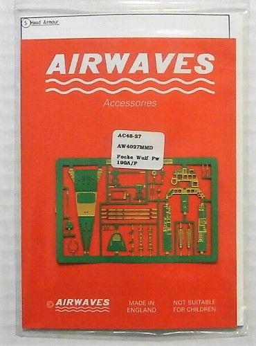 AIRWAVES 1/48 4827 FOCKE WULF Fw 190A/F