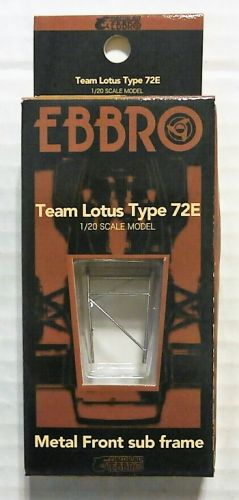 EBBRO 1/20 62001 TEAM LOTUS TYPE 72E METAL FRONT SUB-FRAME