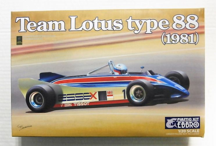 EBBRO 1/20 011 TEAM LOTUS TYPE 88  1981