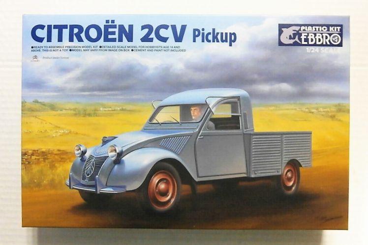 EBBRO 1/24 25004 CITROEN 2CV PICKUP