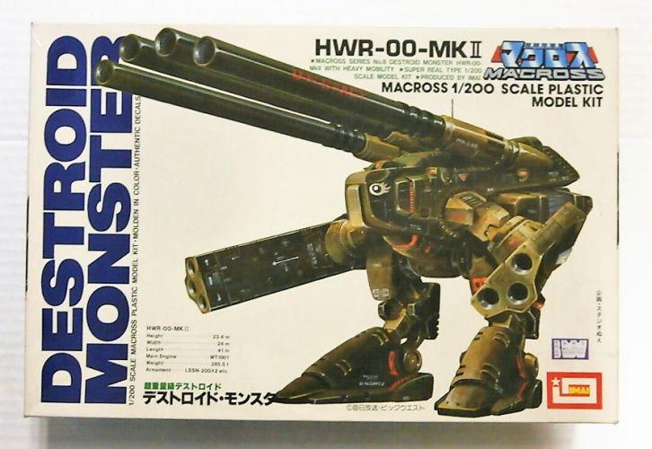IMAI 1/200 B-1224 MACROSS HWR-OO-MKII DESTROID MONSTER