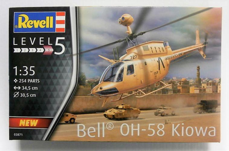 REVELL 1/35 03871 BELL OH-58 KIOWA