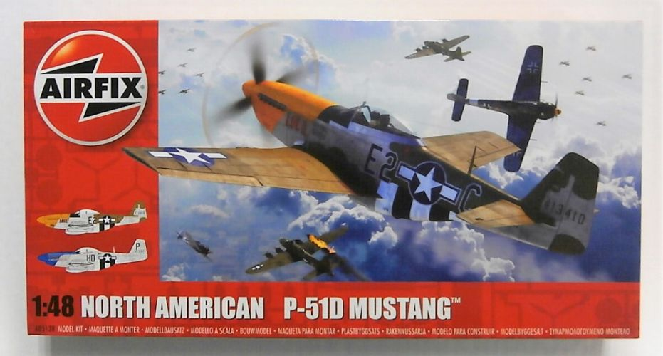 AIRFIX 1/48 05138 NORTH AMERICAN P-51D MUSTANG