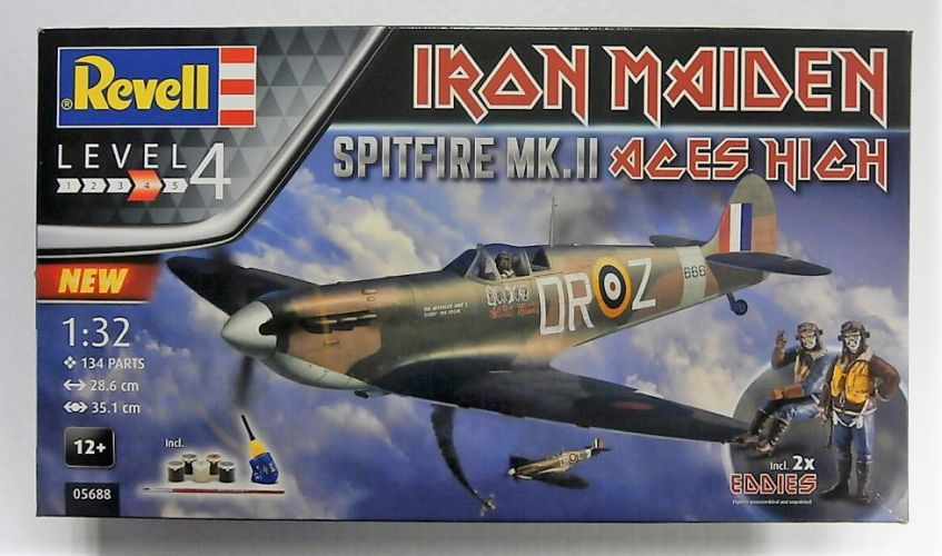 REVELL 1/32 05688 IRON MAIDEN SPITFIRE MK.II ACES HIGH