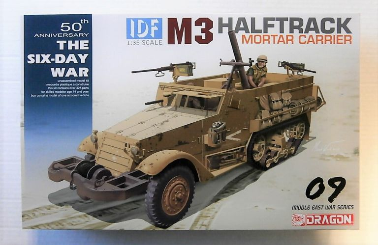 DRAGON 1/35 3597 IDF M3 HALFTRACK MORTAR CARRIER