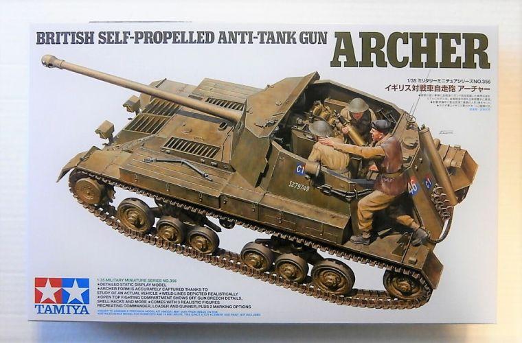 TAMIYA 1/35 35356 BRITISH SELF-PROPELLED ANTI-TANK GUN ARCHER