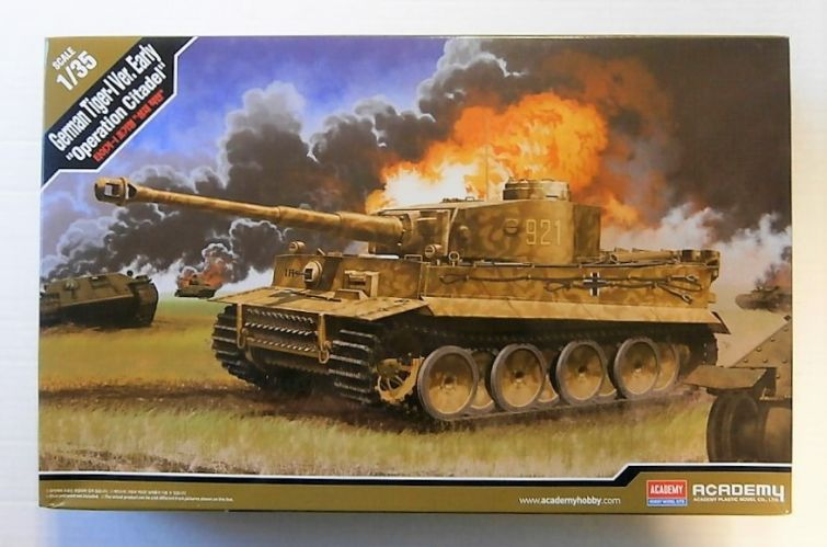 ACADEMY 1/35 13509 GERMAN TIGER 1 Ver. EARLY OPERATION CITADEL