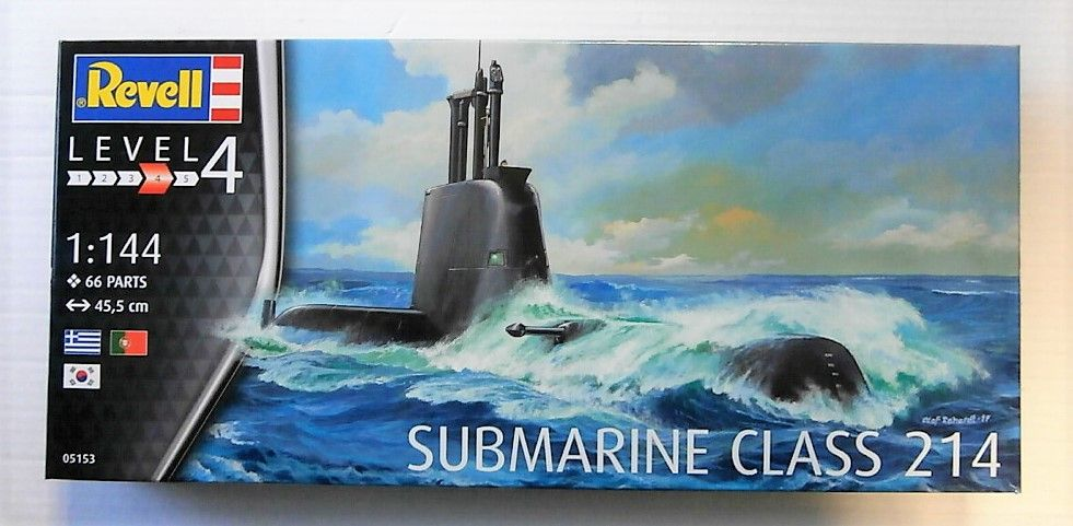 REVELL 1/144 05153 SUBMARINE CLASS 214